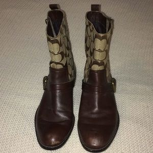 Coach boots!